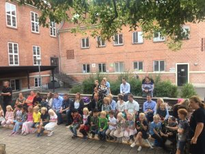 Første skoledag for 0. klasserne på Hvidovre Privatskole
